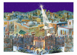 3D Bethlehem German Advent Calendar