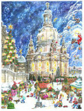 Dresden Church Frauenkirche German Advent Calendar
