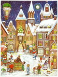 Town Square German Christmas Advent Calendar