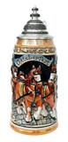 Oktoberfest Beer Wagon Stein 1 Liter