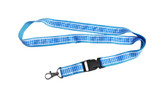 Bavarian Diamond Pattern Lanyard with Detachable Clip