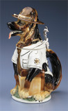 Sheriff German Shepherd Dog Beer Stein