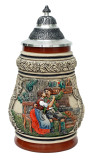 Traditional Franconian Lovers Beer Stein