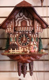 Kissing Couple German Cuckoo Clock