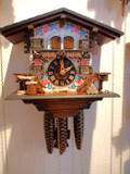 Bavarian Chalet German Cuckoo Clock