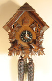 Chalet with Feeding Birds German Cuckoo Clock