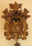 Leaves Musical German Cuckoo Clock