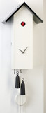 SimpleLine White German Cuckoo Clock