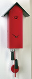 SimpleLine Red German Cuckoo Clock