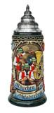 Oktoberfest Oompah Band Beer Stein Rustic