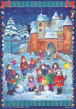 Stargazing Winter Castle German Advent Calendar