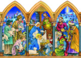 Nativity Arches German Advent Calendar
