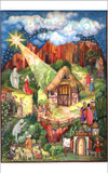 Christmas Story Religious German Advent Calendar