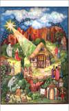 Christmas Story Religious German Advent Calendar