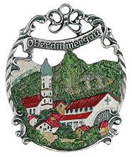 Traditional Handmade German Pewter Xmas Ornament