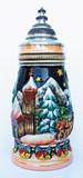 Alpine Christmas Chapel Christmas Beer Stein