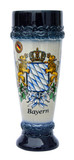 Bavaria Crest Stoneware Wheat Beer Cup