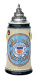 US Coast Guard Beer Stein