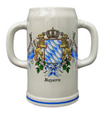 Double Handle Bavaria 2 Liter Stoneware Mug