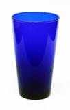 Cobalt Blue Pint Beer Glass