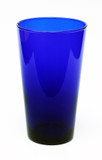 Cobalt Blue Beer Glass Personalized Engraving