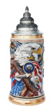 US Navy Eagle of Freedom Beer Stein