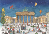 Berlin Bradenburg Gate German Advent Calendar