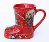 Christmas Gluhwein Boot Mug