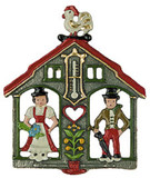 Weatherhouse German Pewter Christmas Ornament