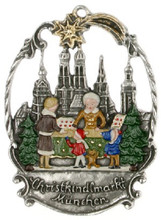 Authentic Handmade German Pewter Christmas Ornament