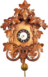 Leaf and Vine German Mini Clock