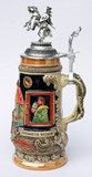 Rothenburg Jousting Knight Beer Stein