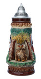 Owl Wildlife Beer Stein