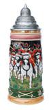 Hussar Horsemen 1.5 Liter Beer Stein