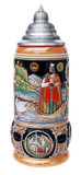 King Limitaet 2001 | Lohengrin Handpainted Beer Stein