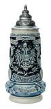 Austria Panorama Beer Stein Cobalt