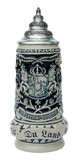 Land of Bavaria Beer Stein Cobalt