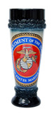 Marine Corps Stoneware Wheat Beer Cup