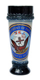 Navy Stoneware Wheat Beer Cup