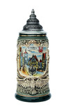 Rothenburg City Skyline Beer Stein 0.4 Liter
