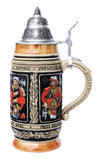 Card Player Beer Stein