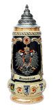 Deutschland Crest with Swarovski Crystals Beer Stein