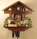 Bavarian Beer Drinker German Cuckoo Clock