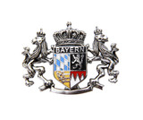 Bayern Lion Crest Bavarian Hat Pin