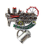Munich Oktoberfest Beerwagon German Hat Pin