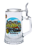 Authentic German Beer Stein with Heidelberg Painting