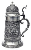 Giant Parforce Hunting Pewter Beer Stein