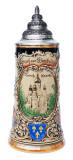 Historical Wiesbaden Beer Stein