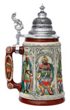 Peter Duemler Crusaders Beer Stein