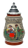 Traditional Franconian Lovers Farewell Beer Stein